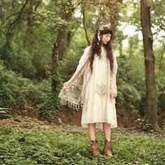 """Mori Girl is a fashion subculture that originated from Japan. It literally translates to """"forest girl"""". 