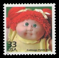 US Stamp - Celebrate the Century 1980s Cabbage Patch Kids