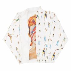 Space Man - Machine Eyes - Spring Summer 2015 Women , Teddy jacket Reversible - G.KERO