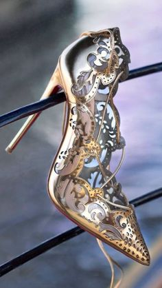 Christian Louboutin Cinderella shoes. I would trade the prince for these shoes in a blink of an eye!