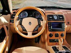 2007 Maserati Quattroporte Maserati Interior, 2007 Maserati Quattroporte, Luxury Cars, Super Cars, Transportation, Classic Cars, Automobile, Car Interiors, Motors