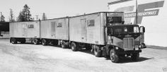 Triple Tandem Trailer Truck BP Transporter Freight Liner 1963  8  x 14 Photo