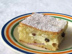 Hungarian Recipes, Russian Recipes, Eastern European Recipes, Vegan Lifestyle, Something Sweet, Cornbread, Sweet Recipes, Sweet Tooth, Cheesecake