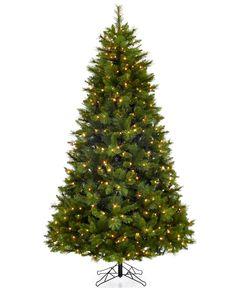 Holiday Lane 7.5' Green Pre-Lit Christmas Tree