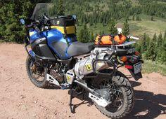 Yamaha Super Tenere Wolfman Luggage #gripstertankgrips www.techspec-usa.com