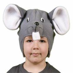 Disfraz de ratón. Muy sencillo y fácil con solo este gorro de forro podrás disfrazase. http://www.hullitoys.com/10_babuart