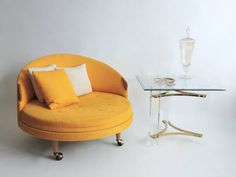 why are you not in my family room, yellow chair? {sigh}