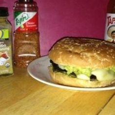 """""""Oh O"""" Portobello Adobo Burger"""