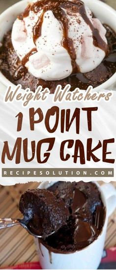 ONE POINT MUG CAKE!