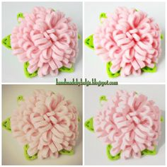 The other day I made a new felt brooch. This brooch has the look of a peony and it is very easy sewed. So my mini-tutorial for you.      Mat...