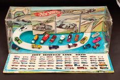 Vintage 1970 Hot Wheels retail store display