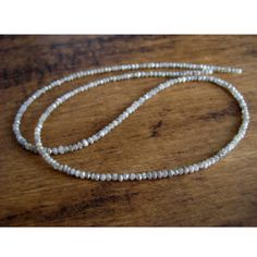 Rough Diamond Bead Faceted Diamond Beads Raw by gemsforjewels, $865.90