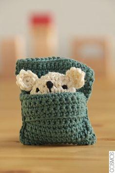 ratolí de ganxet / ratoncillo de ganchillo / crochet little mouse