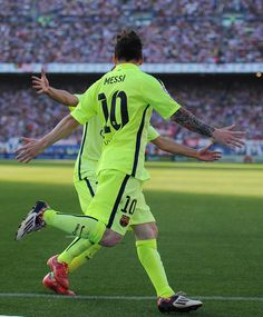 f56976993 Lionel Messi Photos - 6798 of 13936 Photos  Club Atletico de Madrid v FC  Barcelona - La Liga