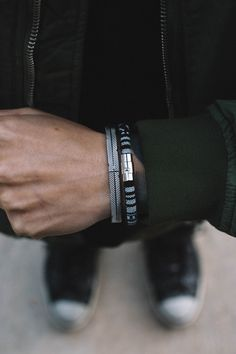 These MISTER bracelets have superior attention to detail.