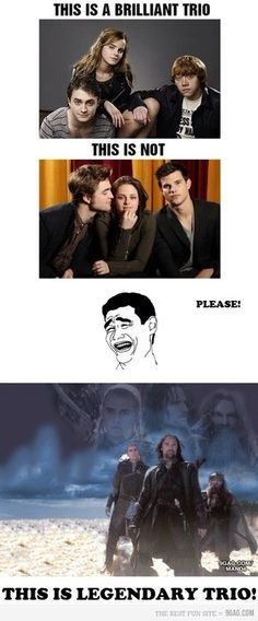 LOL!!! Legendary is the perfect description!!! Hunger Games had a pretty amazing trio too!!