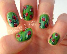 Nailed It NZ: Ladybird nail art tutorial! http://www.naileditnz.com/2013/08/ladybird-nail-art-tutorial.html