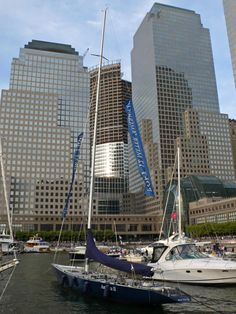 Manhattan. NYC. The Marina at the World Financial Center, Battery Park City.