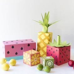 Turn your wrapping paper into fruit with this easy tutorial.