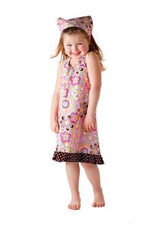 Polka Dot Bloom Handmade Halter Dress 3T New Ready by uniquefavors, $40.00