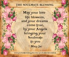 Prayers for a soulmate and true love