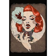 """Smoking Hot"" Print by Lowbrow Art Company #InkedShop #art #Print #home #decor"