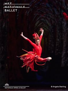 Maia Makhateli - Firebird - Dutch National Ballet - Photo by Angela Sterling