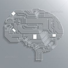 Circuit Board Brain abstract, ai, art, artificial, background, board, brain, cell, chip, circuit, concept, cover, decorative, design, element, emblem, grey, human, icon, information, integrated, intelligence, line, network, neuro, poster, print, quality, sign, symbol, Circuit Board Brain