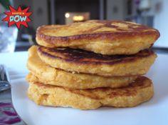 Butternut Squash & Quinoa Protein Pancakes › Protein Pow