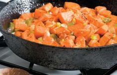 This savory and sweet side dish is sure to be a breakfast favorite. Sweet Potato Hash | EatFresh #eatfreshCA