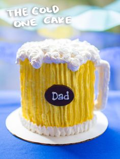 Cheers, pop! This Father's Day, celebrate dad and all he does with The Cold One Cake! Make your Father's Day celebration even more special with one of our customizable ice cream cakes. The Cold One Cake is flavorful and frosty and will surely help him sit back, relax and enjoy his special day. Order yours today online and pick it up before June 19th!