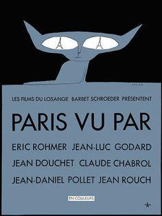 Paris vu Par.  Vintage movie poster  http://www.vintagevenus.com.au/products/vintage_poster_print-mv291