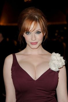 46 Photos Of Christina Hendricks: One of the sexiest women... EVER.  When I grow up I want to be like her.