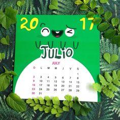 "10 Me gusta, 1 comentarios - Monstruo Creativo® FranyDom (@monstruocreativocr) en Instagram: ""#monstruocreativo #calendary #calendario #monstruo #monster #julio #july #leaves #hojas…"""
