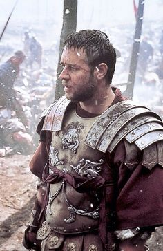 Russell Crowe in Gladiator.  When he was hot.