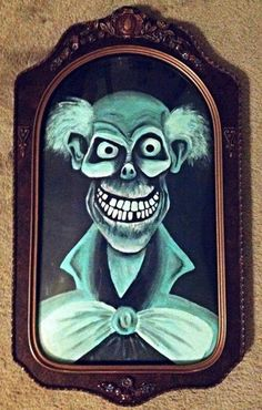 The Art of the Haunted Mansion Morgan Durfee's acrylic painting of Ezra will follow you home!