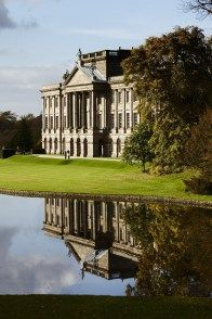 Lyme Park in Cheshire, England, a magnificent Elizabethan mansion in the village of Disley became Mr Darcy's home Pemberley in the 1995 tv adaptation of Jane Austen's Pride and Prejudice