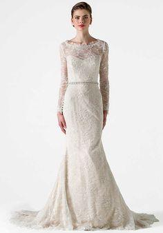 Anne Barge Gardner Mermaid Wedding Dress