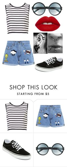 """""""Untitled #166"""" by conformtouskids on Polyvore featuring Paul & Joe Sister, Vans, Tom Ford and Lime Crime"""