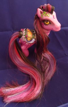 My little pony custom Halloween Carling by AmbarJulieta.deviantart.com on @deviantART