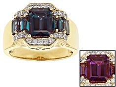 Have you seen the latest at JTV? Discover this gorgeous Pre-Owned Color Change Lab Created Alexandrite Gold Over Silver Ring Shop today to get a great deal! Sterling Silver Bead Bracelet, Sterling Silver Rings, Pink Gemstones, Natural Gemstones, Peruvian Opal, Blue Topaz Ring, Alexandrite, Pink Opal, Opal Gemstone