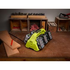 Ryobi ONE+ SuperCharger and 2 Lithium-Ion Batteries Kit Ryobi Battery, Ryobi Tools, Cordless Tools, Thing 1, Electronic Recycling, Welding, Compact, Workshop, Kit
