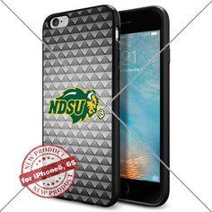 Case North Dakota State Bison Logo NCAA Cool Apple iPhone6 6S Case Gadget 1391 Black Smartphone Case Cover Collector TPU Rubber [Triangle] Lucky_case26 http://www.amazon.com/dp/B017X145KO/ref=cm_sw_r_pi_dp_TS1twb0KPTQHG