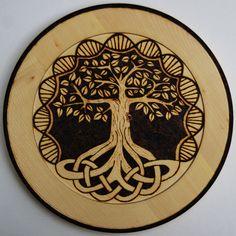 Tree of Life Plate by llinosevans.deviantart.com on @deviantART