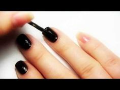 The Nail Polish Challenge Tutorial: Applying Nail Foils (without glue!) - YouTube