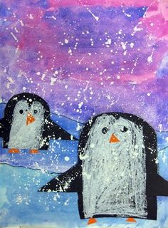 Penguins+in+Antarctica+-+Artsonia+Lesson+Plan