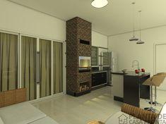 CS - 0027 projeto-planta-casa-sobrado-arquitetura-moderna-180-metros-terreno-8x25 (15) Cs, Divider, Kitchen Cabinets, House, Patio, Room, Furniture, Home Decor, Ideas