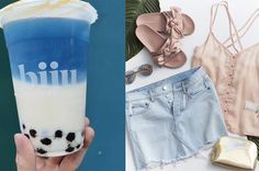 Add Eight Pieces To Your Wardrobe And We'll Tell You What Trendy Food You Are I got: Bubble Tea (aka Boba)