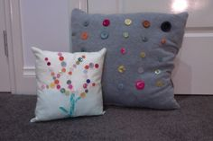 Cushions made by me!