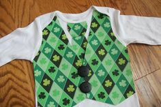 Baby St. Patrick day outfit for @Megan Southwell